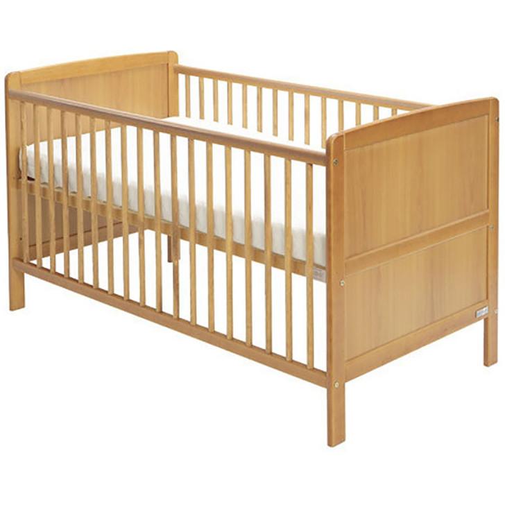 Baby Elegance Travis Cot Bed - Pine