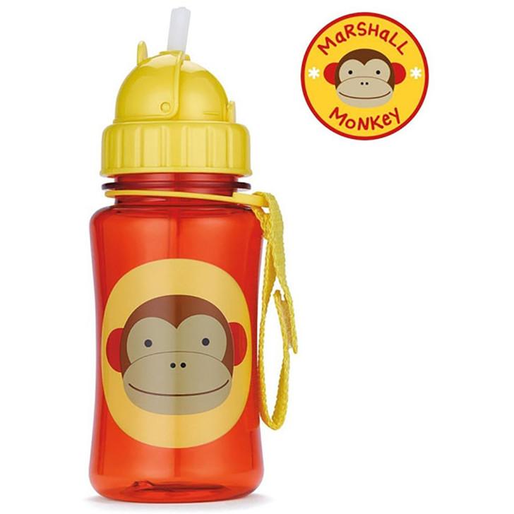 Skip*Hop Zoo Straw Bottles - Monkey
