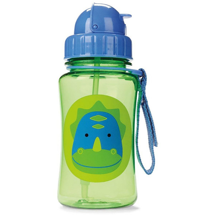 Skip*Hop Zoo Straw Bottles -Dinosau