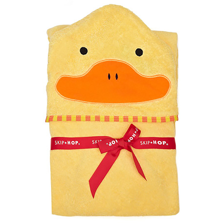 Skip*Hop Zoo Hooded Towel & Mitt Set - Duck