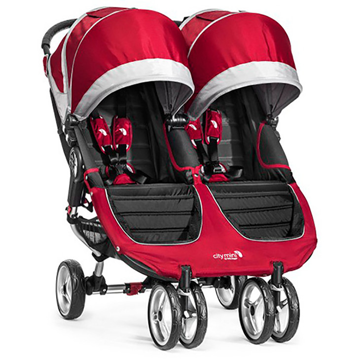 Baby Jogger City Mini Double - Crimson
