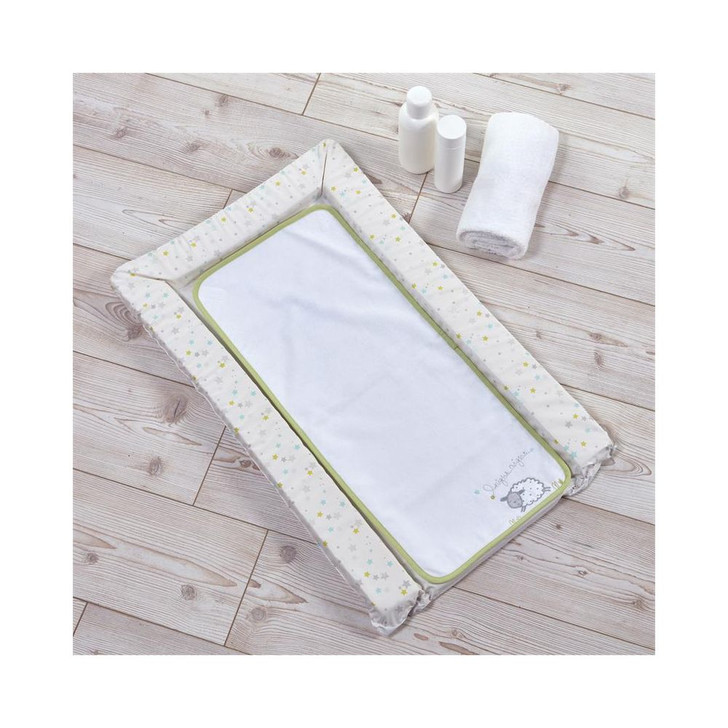 Silver Cloud Changing Mat- Counting Sheep