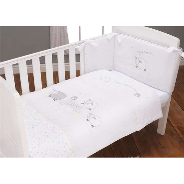 Silver Cloud 3 Piece Bedding Set - Counting Sheep