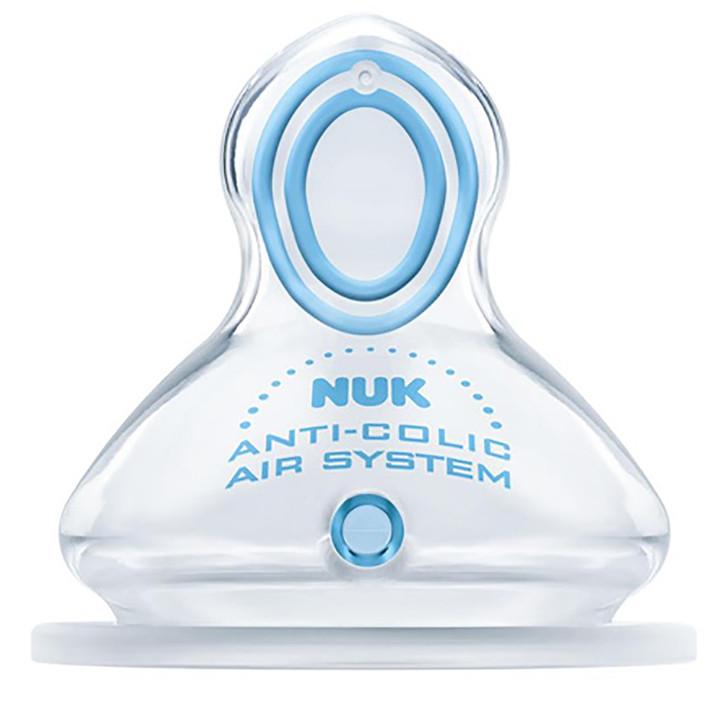 NUK Nature Sense 2 pack Silicone Teats - Pick Your Sizes