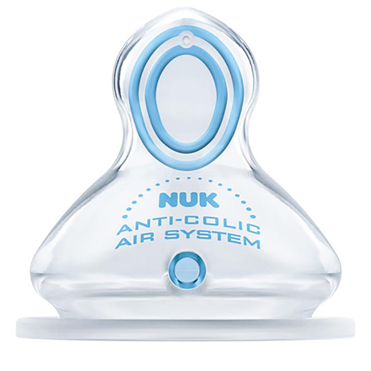 NUK Nature Sense 2 pack Silicone Teats - Pick Your Sizes