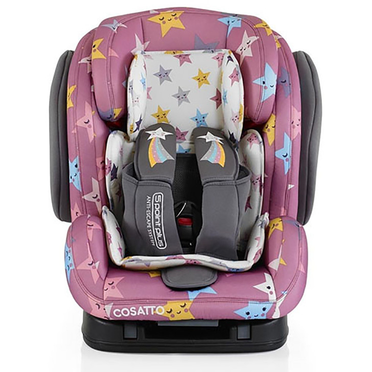 Cosatto Hug Isofix Group Car Seat - Happy Hush Stars