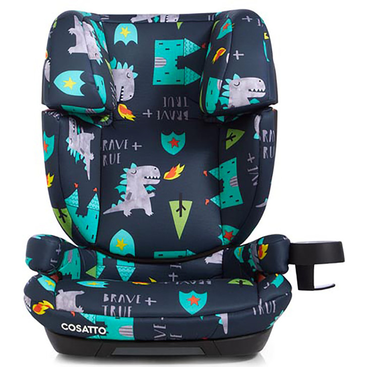 Cosatto Skippa Fix Group 2 3 Car Seat - Dragon Kingdom