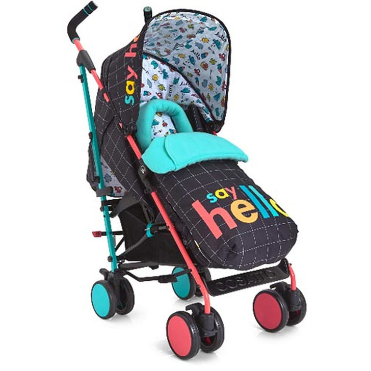 Cosatto Supa Stroller - Say Hello - Eurobay Online - 50% off. Best price guaranteed on Cosatto stroller.