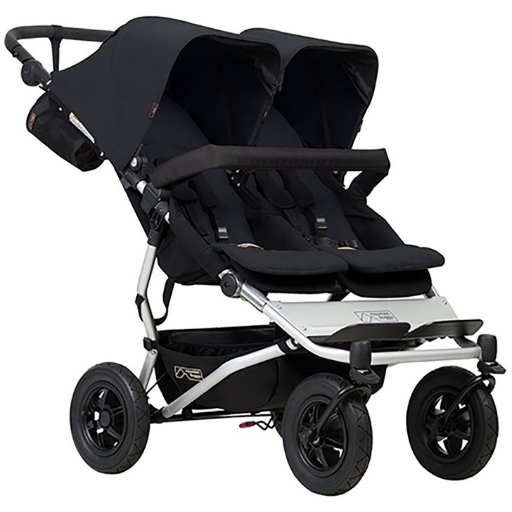 Mountain Buggy Duet Black - FREE Juno Carrier