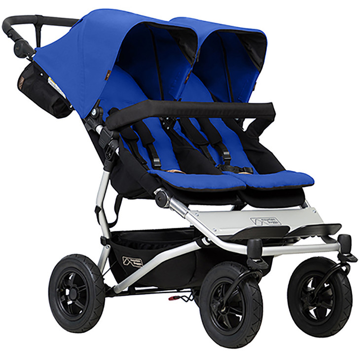 Mountain Buggy Duet Marine Blue - FREE Juno Carrier