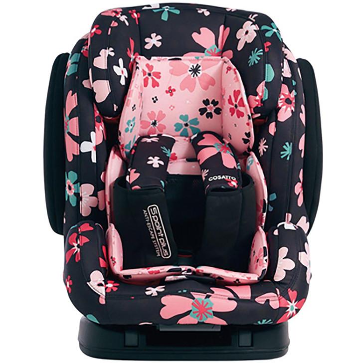 Cosatto Hug Isofix Group Car Seat - Paper Petals.