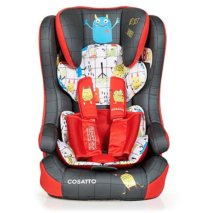 Cosatto Hubbub Isofix Car Seat - Monster Mob