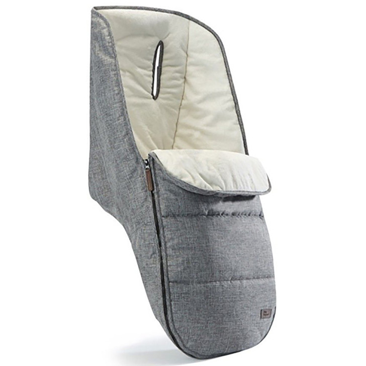 Baby Elegance Deluxe Footmuff- Grey