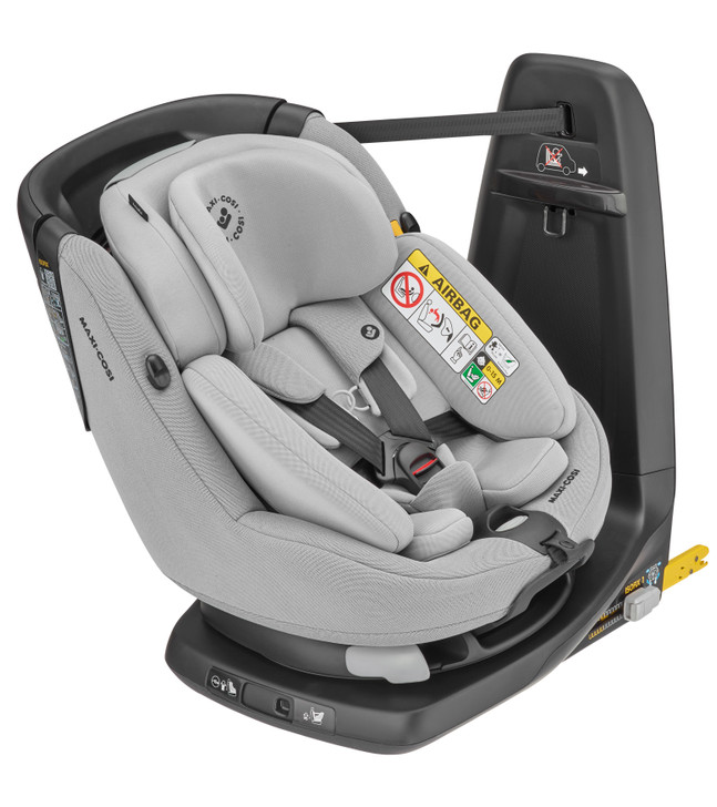 Maxi Cosi Axissfix Plus, rearward and forward facing car seat from birth to 4 years with 360° swivel