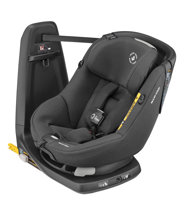Maxi Cosi Axissfix Air i-Size Car Seat - New Authentic Black - Eurobaby