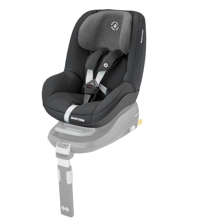 Maxi Cosi Pearl Car Seat - Second stage Maxi Cosi car seat suitable with the Maxi Cosi familyfix isofix base - Eurobaby Online. New Colour - Authentic Black