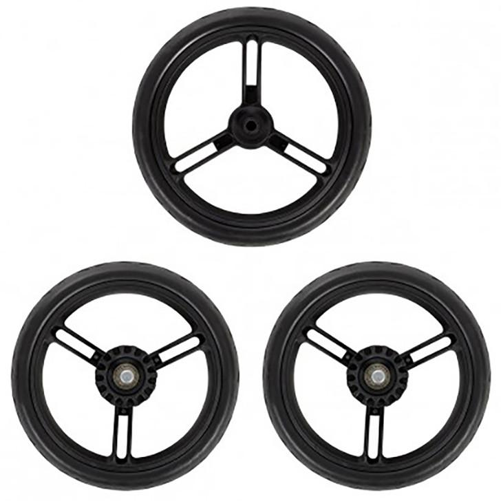 """Mountain Buggy Aerotech 12"""" Wheel Set of 3"""