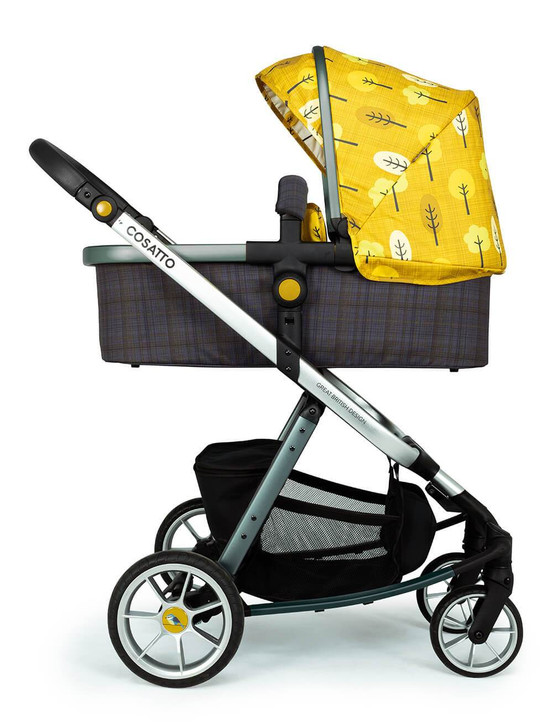 Cosatto Giggle Quad Pram and Pushchair - Spot The Birdie