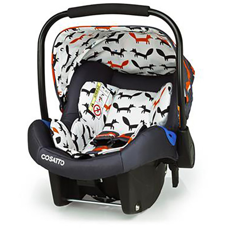 Cosatto Port Carseat -charcoal mister fox