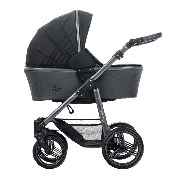 Venicci Special Edition Carbo Lux Travel System - Black - Eurobaby