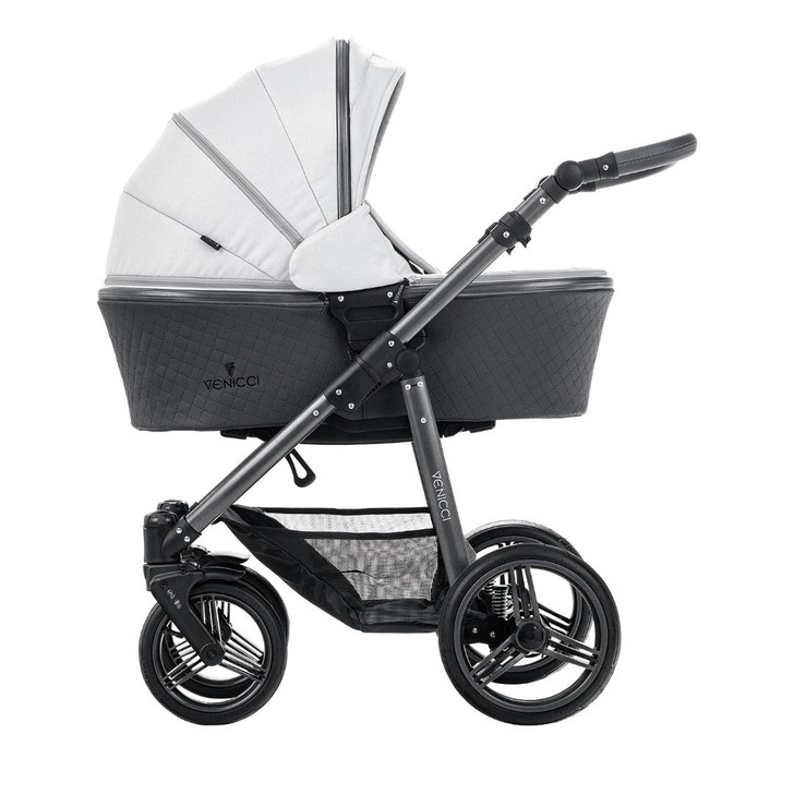 Venicci Special Edition Carbo Lux Travel System - Light Grey - Eurobaby