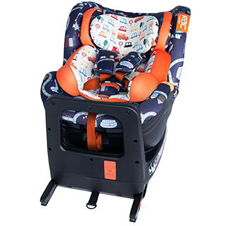 Cosatto RAC Come & Go Rotate I-Size Car Seat - Road Map
