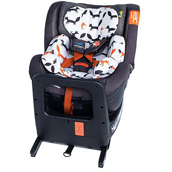 Cosatto RAC Come & Go Rotate I-Size Car Seat - Mister Fox