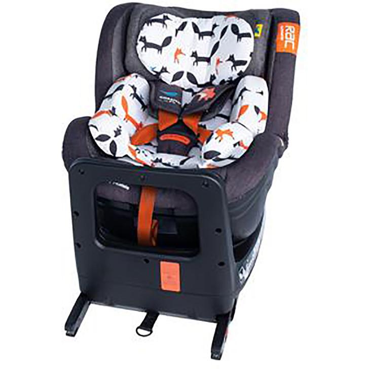 Cosatto RAC Come & Go Rotate I-Size Car Seat - Mister Fox