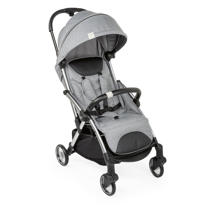 Chicco self closing Goody Stroller - Cool Grey