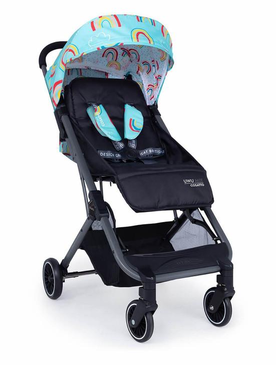 Cosatto Uwu Mix Compact Stroller - Rainbow Rider