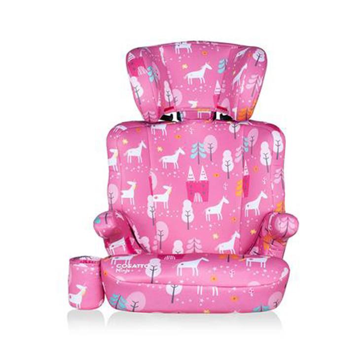 Cosatto Ninja Group 2/3 Child Car Seat - Candy Unicorn Land