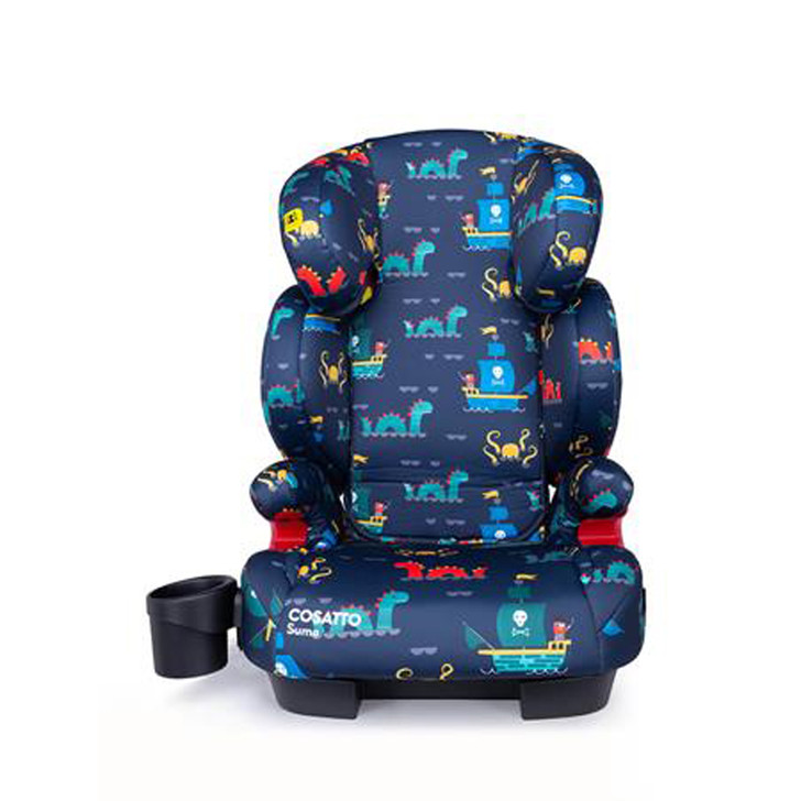 Cosatto Sumo Group 2/3 Isofit Child Car Seat - Sea Monster