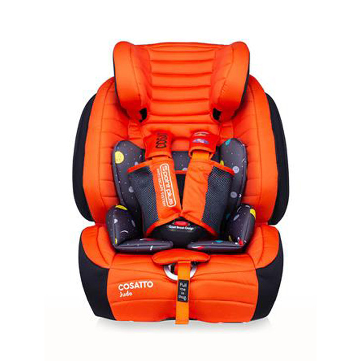 Cosatto Judo Group 123 Isofix Car Seat - Spaceman