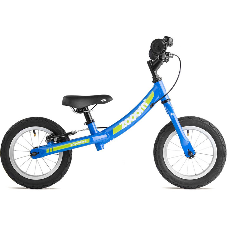 blue boys balance bike suitable for 2,3 and 4 year old.