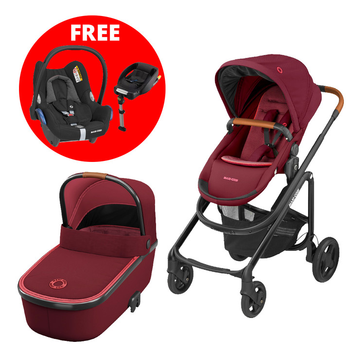 Maxi Cosi Lila travel system bundle