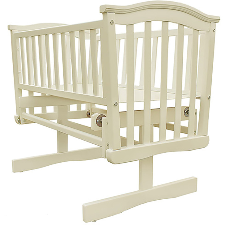 Baby Elegance Glider Crib - Cream