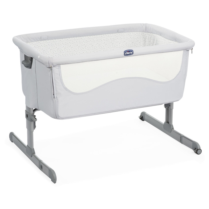 Chicco Next 2 Me Crib- Light Grey