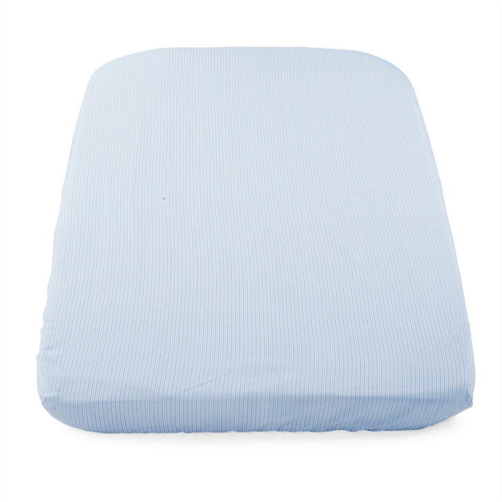 Chicco Crib Fitted Sheets 2 Pack - Grey Stripes
