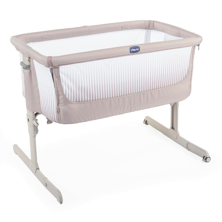 Chicco Next 2 Me Air Crib - Dark Beige