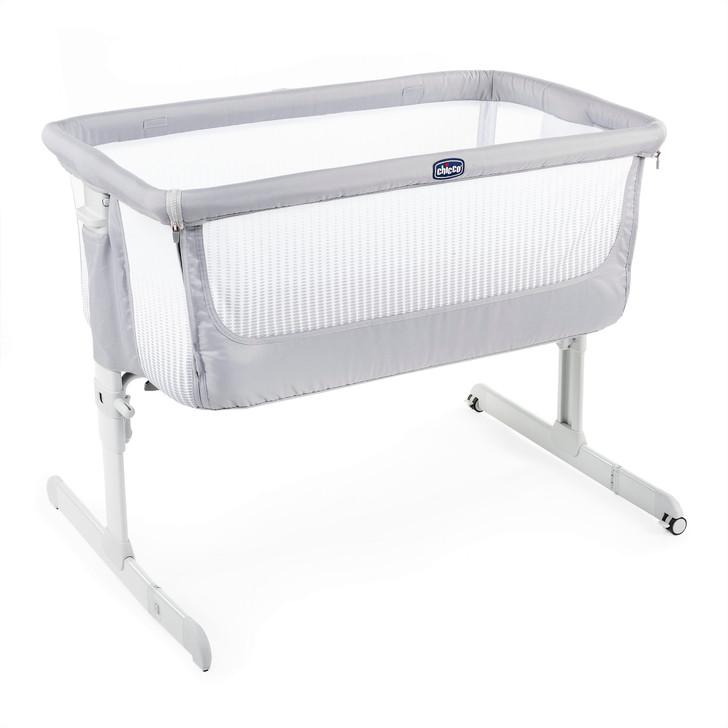 Chicco Next 2 Me Air Crib - Stone