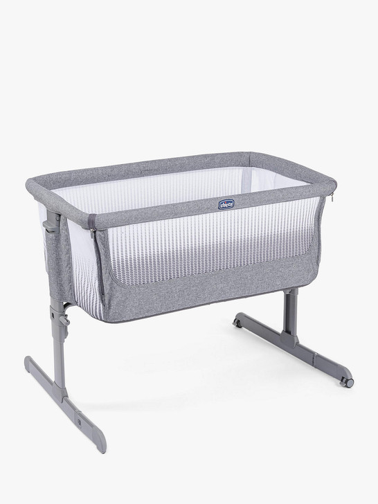 Chicco Next 2 Me Air Crib - Titanium