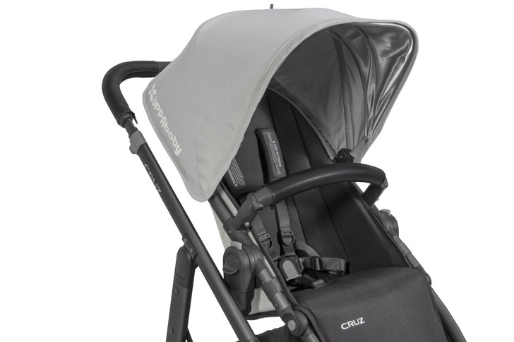 UppaBaby Vista/Cruz Leather Bumper Bar - Black