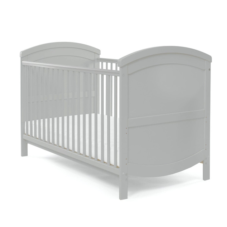 Baby Elegance Walt Cot Bed - Grey - Eurobaby