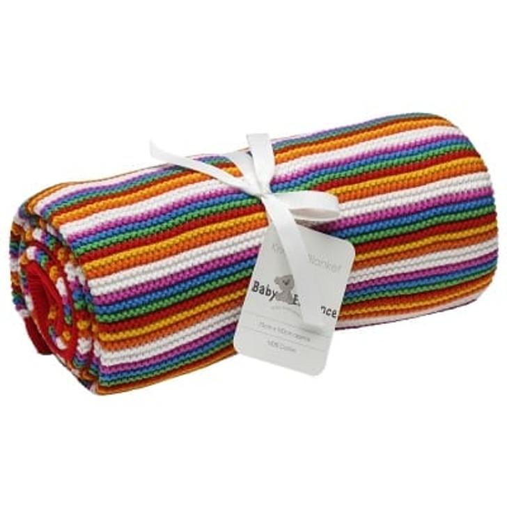 Baby Elegance Multi Pearl Knit Blanket
