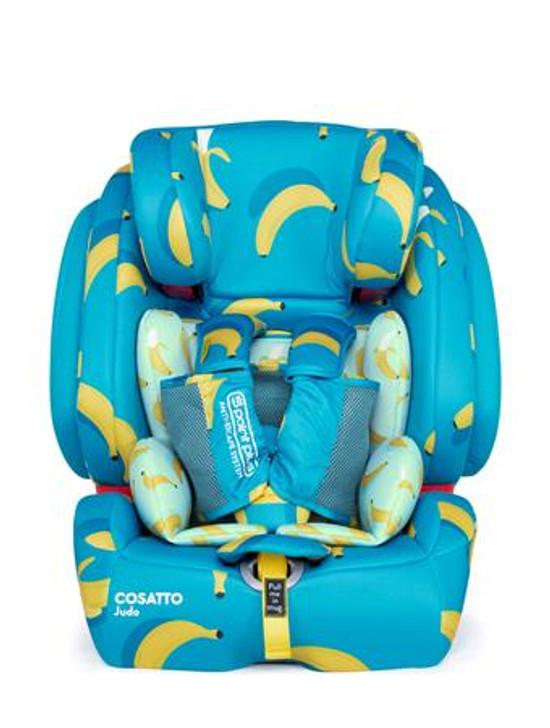 Cosatto Judo Group 123 Isofix Car Seat - Go Bananas