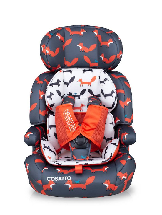 Cosatto Zoomi 123 Car Seat - Charcoal Mister Fox