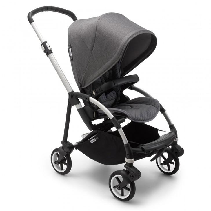 Bugaboo Bee 6 stroller - Alu/Grey Melange Eurobaby