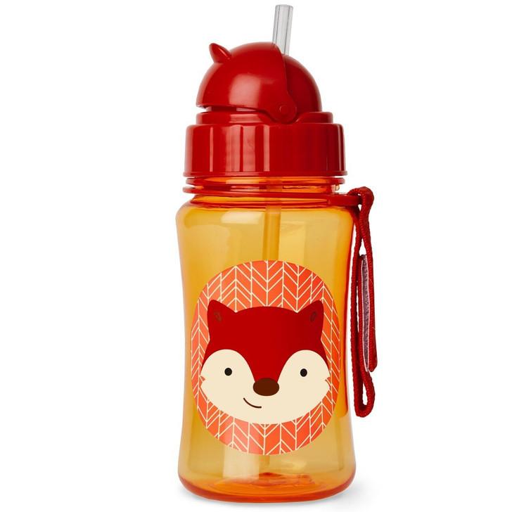 Skip*Hop Zoo Straw Bottle - Fox