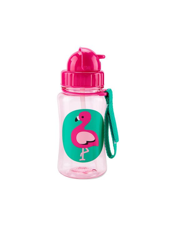 Skip*Hop Zoo Straw Bottle - Flamingo