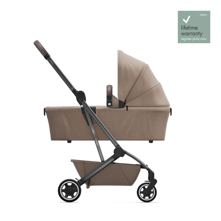 Joolz Aer Pushchair & Carrycot - Lovely Taupe